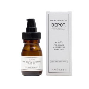 NO.403 PRE-SHAVE & SOFTENING BEARD OIL